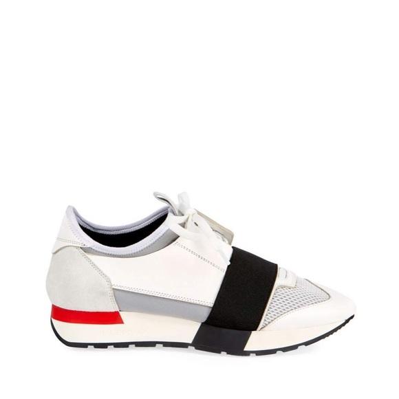 balenciaga color block sneakers